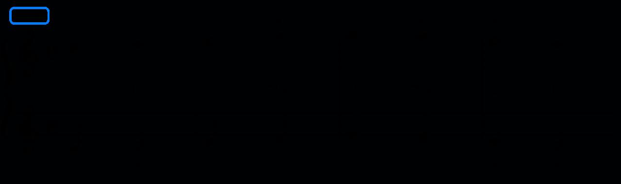 グルリットNo.1の楽譜-02-テンポ