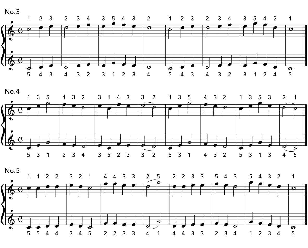 次回予告:グルリットNo.3〜5の楽譜