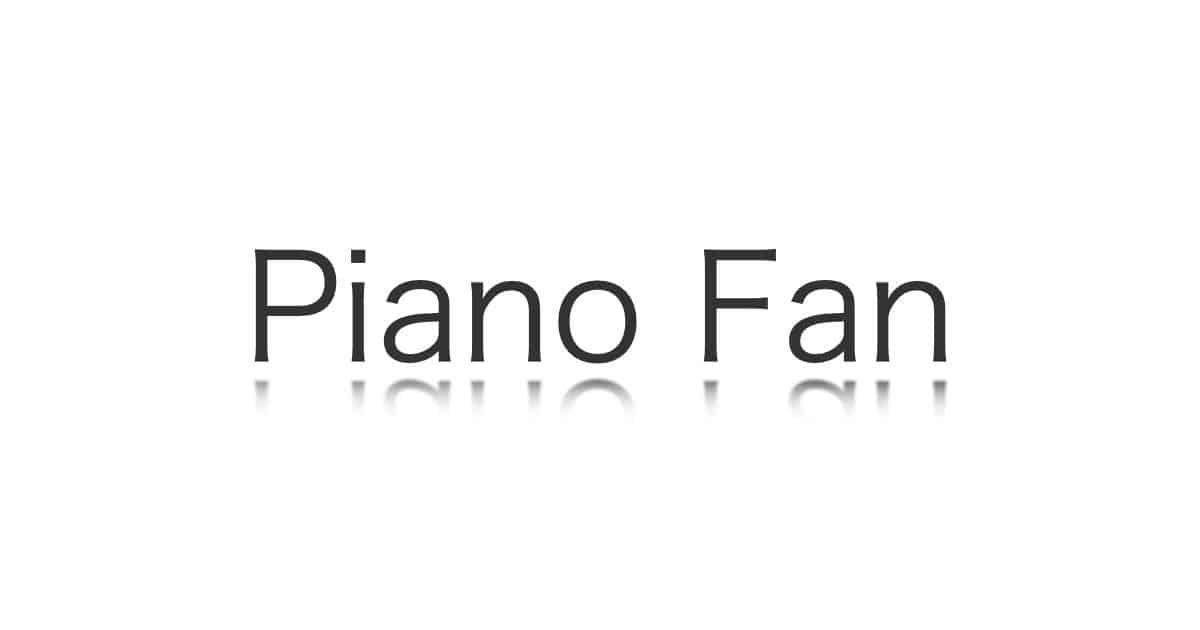 Piano Fan