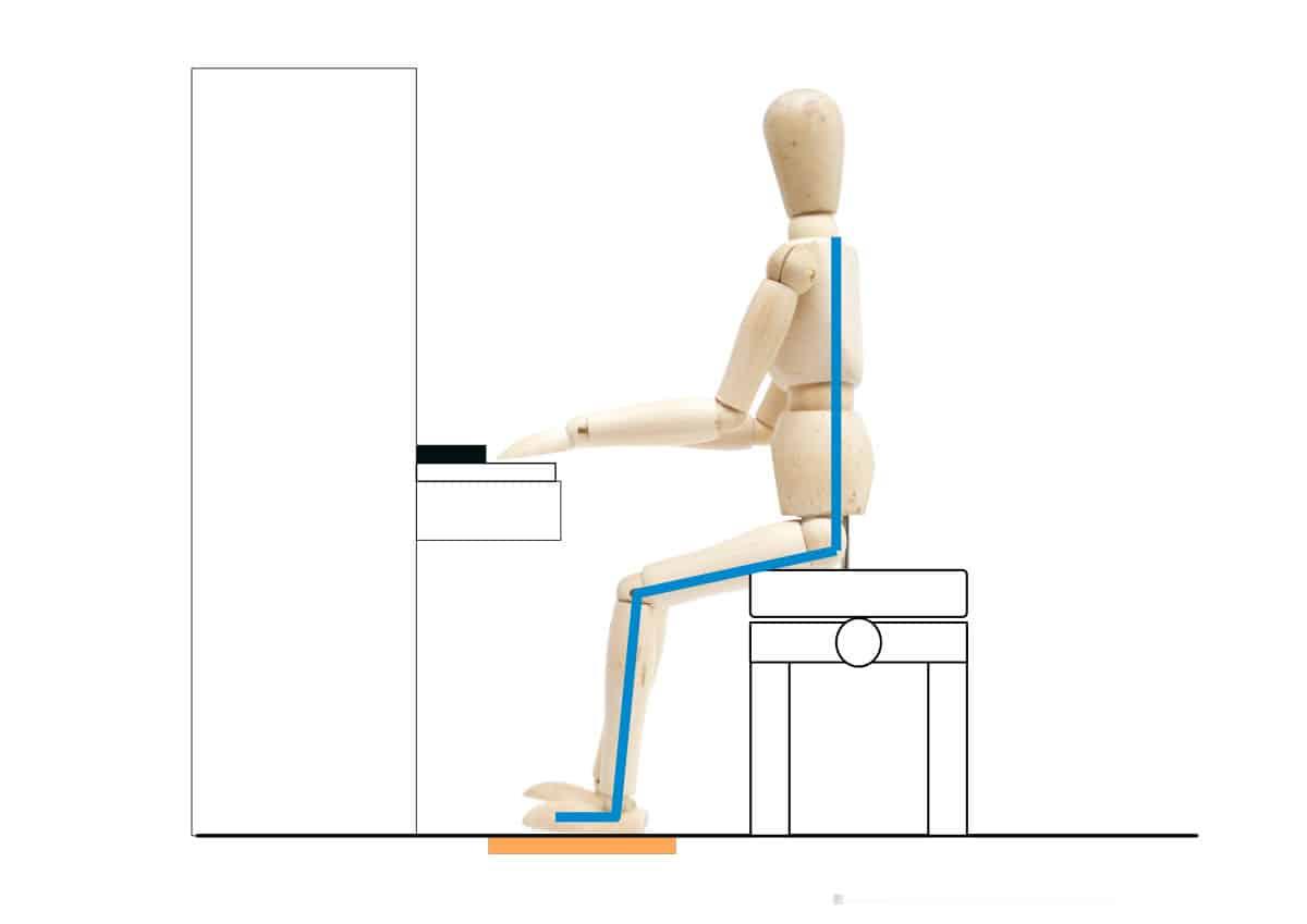 ピアノを弾くときの姿勢-背筋を伸ばす-2