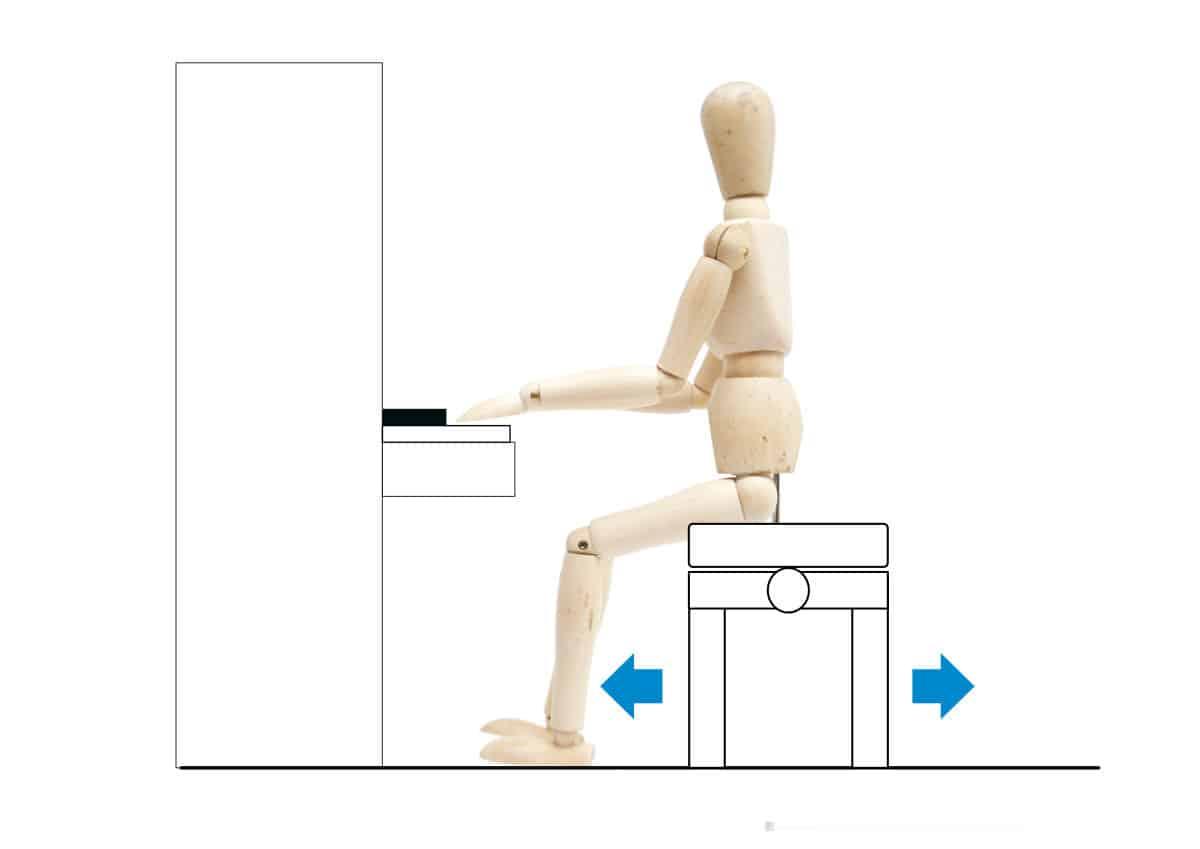 ピアノを弾く姿勢-椅子の調整-1