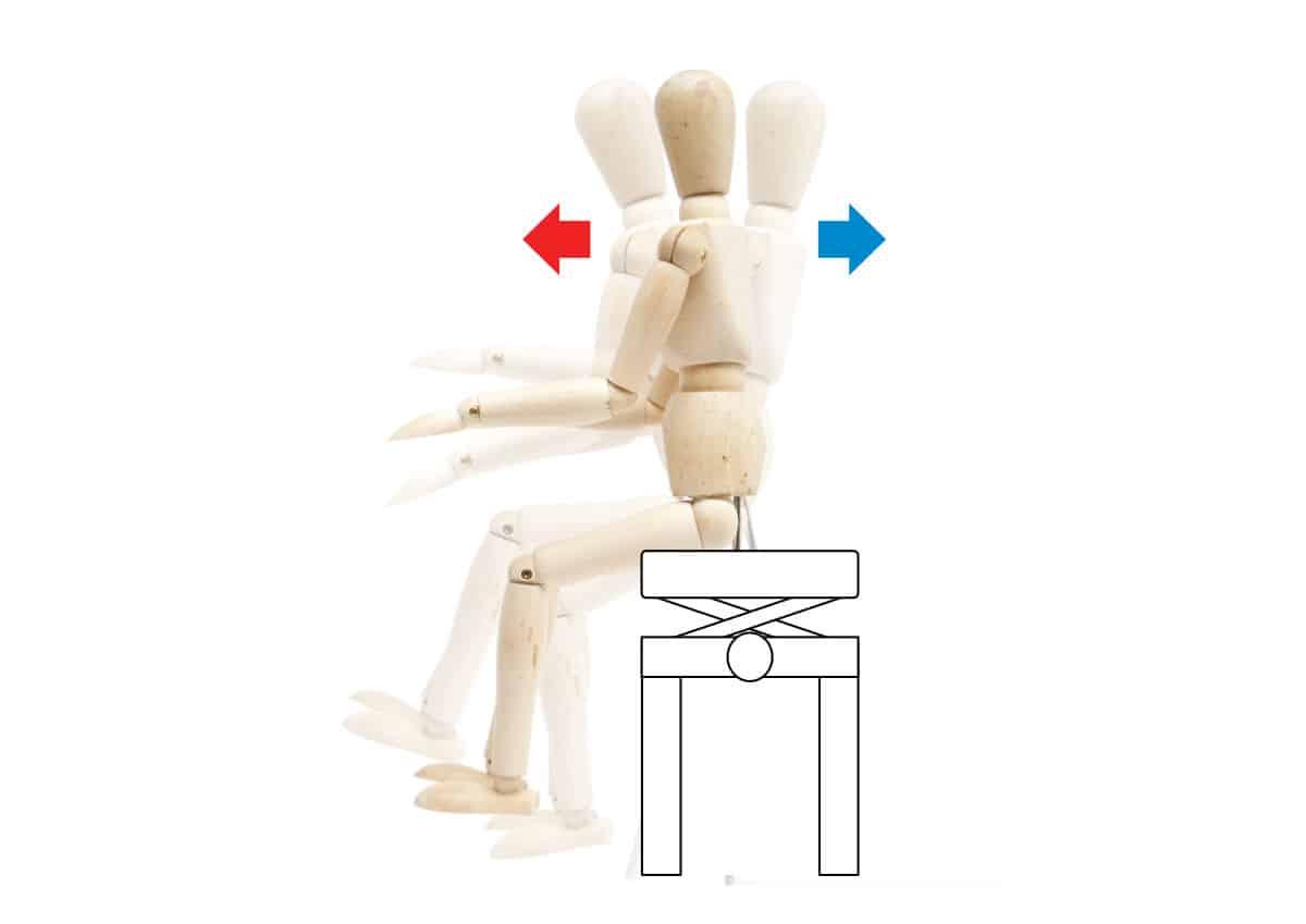 ピアノの椅子の高さの説明-作用と反作用−2の画像